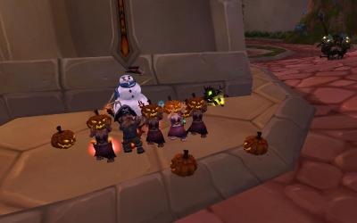 Scared gnomes!